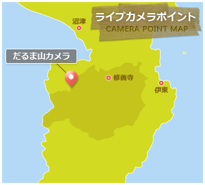 Live camera point map